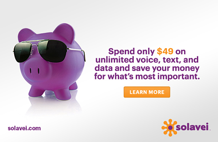 Spend only $49 on unlimited voice, text, and data and save your money for what's most important.